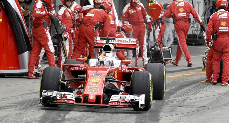 Sebastian Vettel - GP Japan 2016