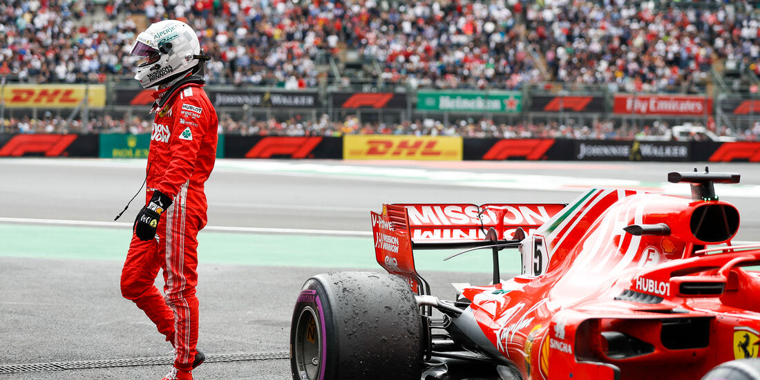 Sebastian Vettel - GP Mexiko 2018