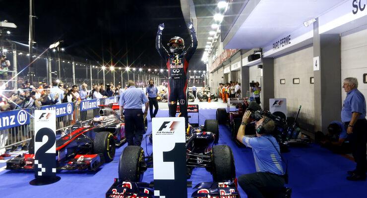 Sebastian Vettel GP Singapur 2012