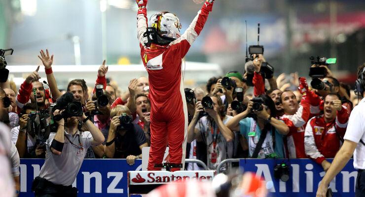 Sebastian Vettel - GP Singapur 2015