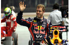 Sebastian Vettel - GP Singapur - 24. September 2011