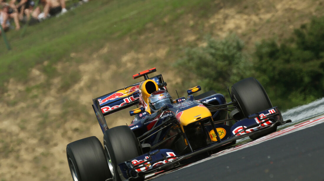 Sebastian Vettel - GP Ungarn 2010