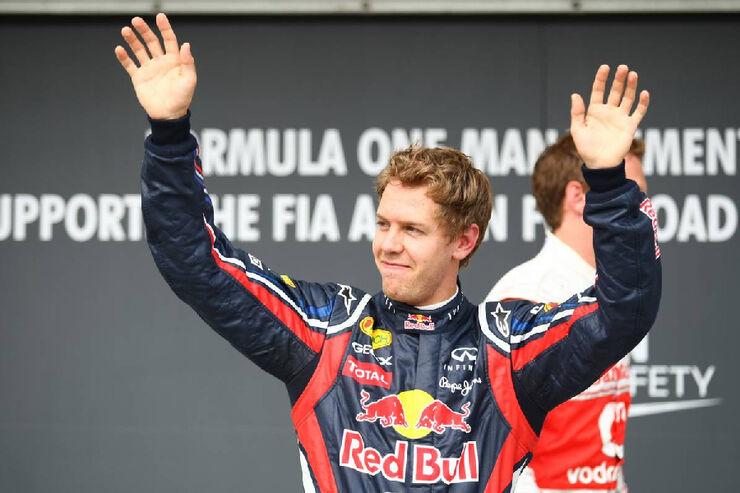 Sebastian Vettel - GP Ungarn - Formel 1 - 30.7.2011