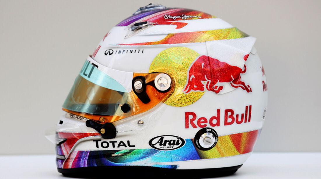 Sebastian Vettel Helm GP Singapur 2011