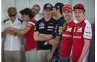 Sebastian Vettel & Kimi Räikkönen - Danis Bilderkiste - Formel 1 - GP Bahrain 2015