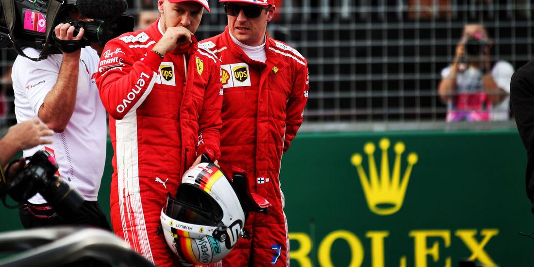Sebastian Vettel - Kimi Räikkönen - Qualifying - GP Australien 2018 - Melbourne