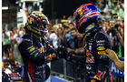 Sebastian Vettel - Mark Webber - Formel 1 - GP Abu Dhabi - 03. November 2013