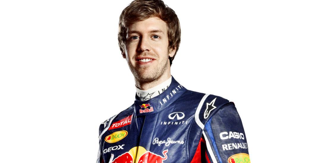 Sebastian Vettel Porträt 2012