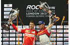 Sebastian Vettel - Race of Champions - London - 2015
