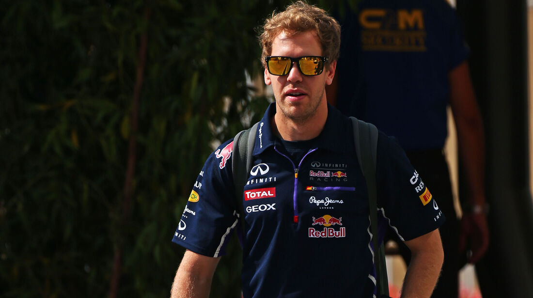 Sebastian Vettel - Red Bull - Formel 1 - GP Abu Dhabi - 20. November 2014