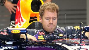 Sebastian Vettel - Red Bull - Formel 1 - GP Australien - Melbourne - 13. März 2014