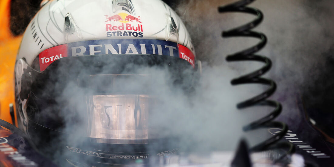 Sebastian Vettel - Red Bull - Formel 1 - GP Bahrain - 19. April 2013