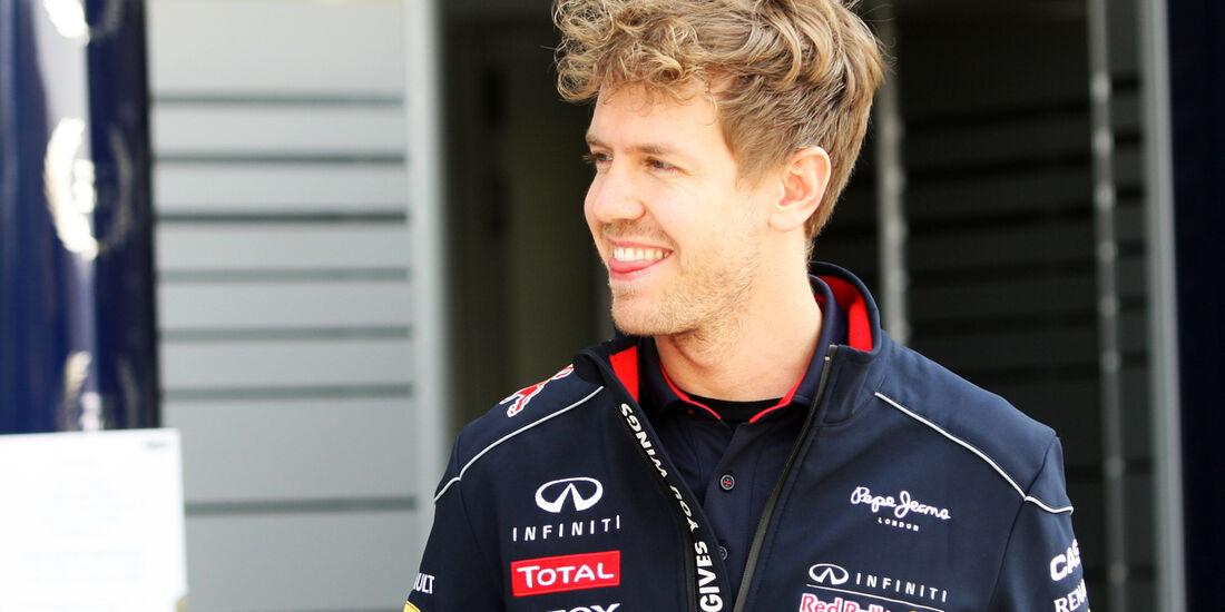 Sebastian Vettel - Red Bull - Formel 1 - GP China - 11. April 2013