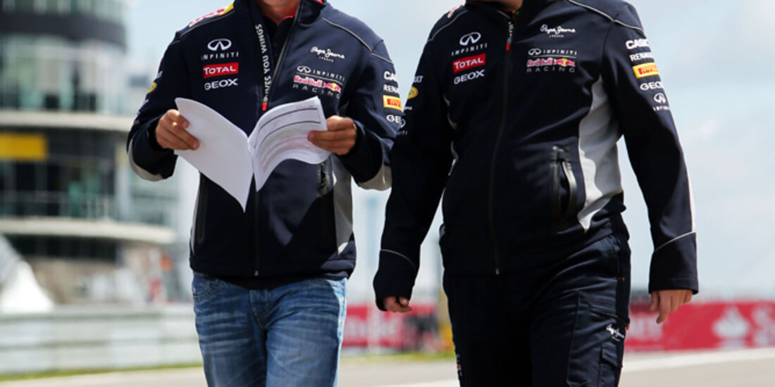 Sebastian Vettel - Red Bull - Formel 1 - GP Deutschland - 4. Juli 2013