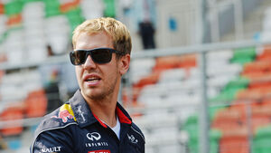 Sebastian Vettel - Red Bull - Formel 1 - GP Indien - Delhi - 24. Oktober 2013