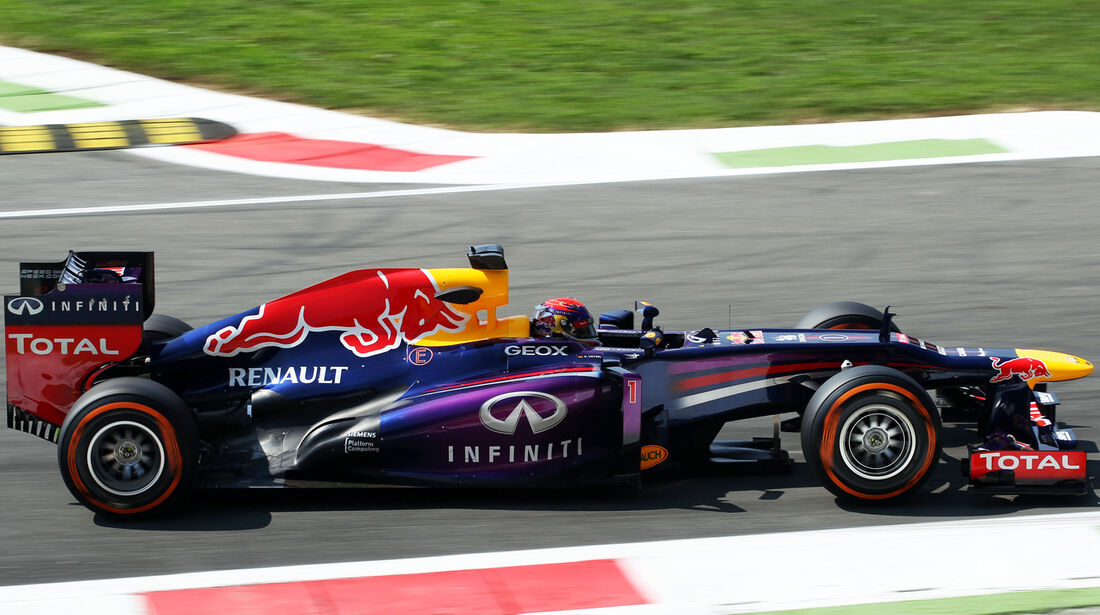 Sebastian Vettel - Red Bull - Formel 1 - GP Italien - 6. September 2013