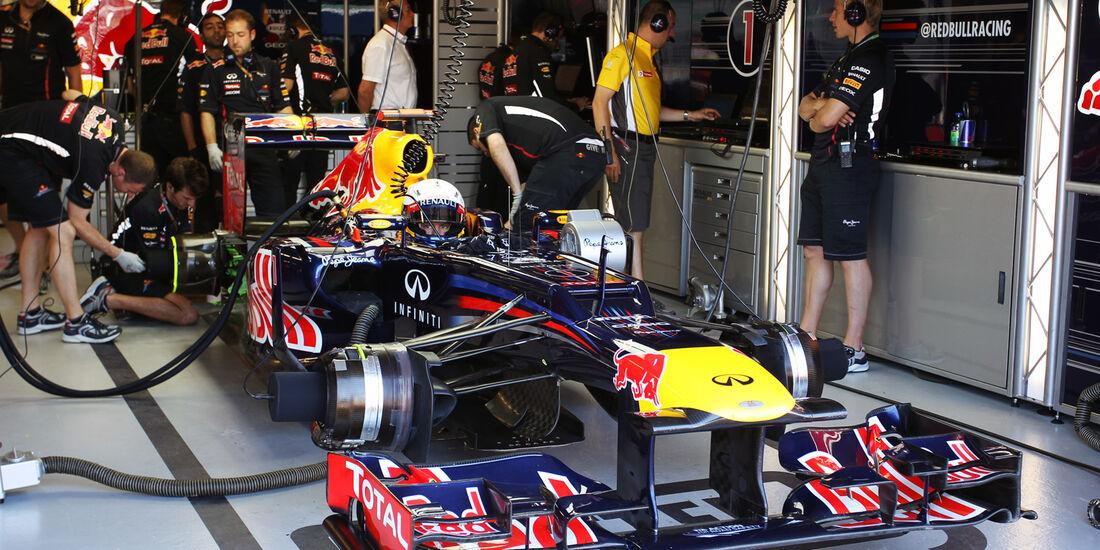 Sebastian Vettel - Red Bull - Formel 1 - GP Kanada - 10. Juni 2012