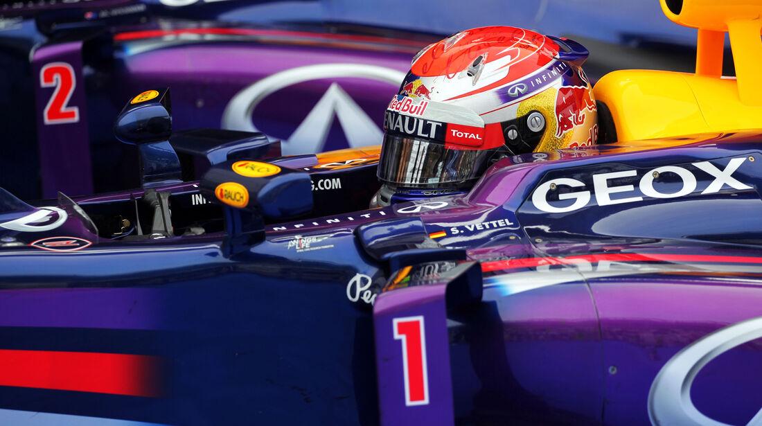 Sebastian Vettel - Red Bull - Formel 1 - GP Korea - 5. Oktober 2013