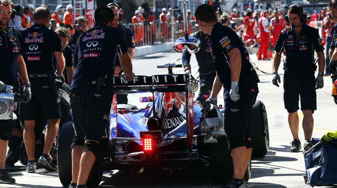 Sebastian Vettel - Red Bull - Formel 1 - GP Russland - 11. Oktober 2014