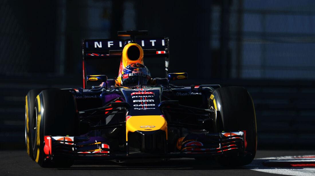 Sebastian Vettel - Red Bull - Formel 1 - GP Russland - Sochi - 10. Oktober 2014