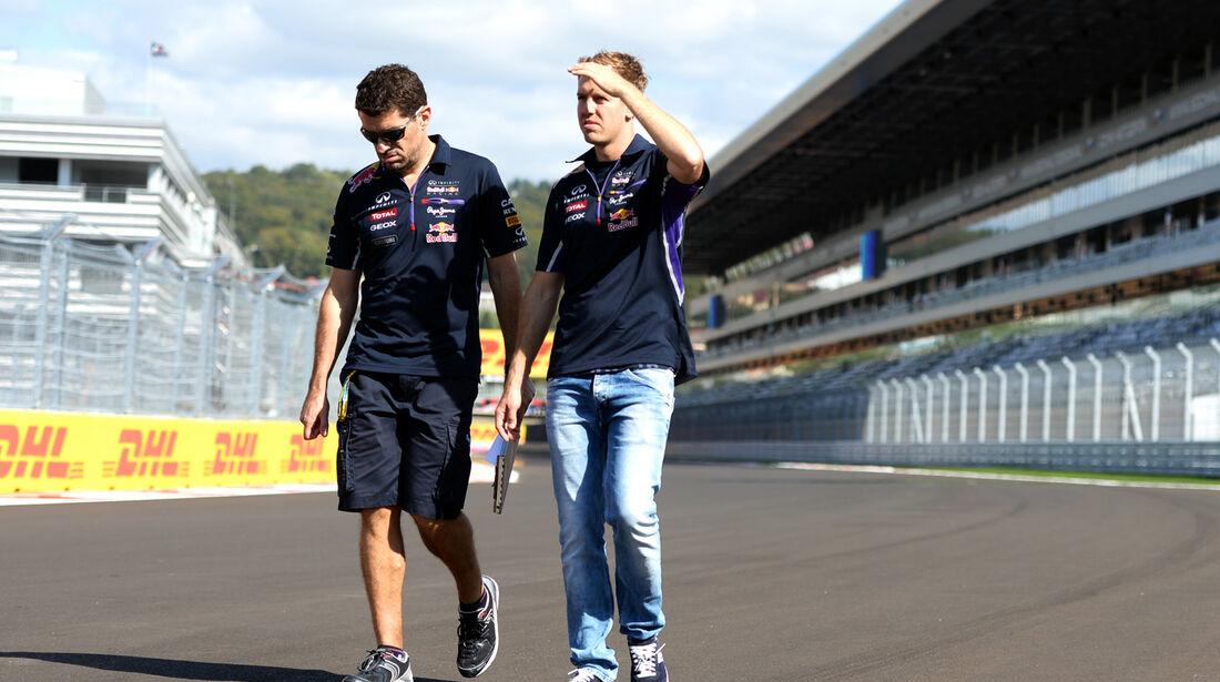 Sebastian Vettel - Red Bull - Formel 1 - GP Russland - Sochi - 9. Oktober 2014