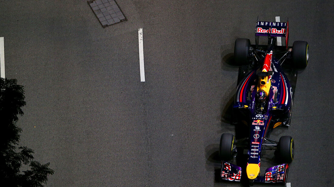 Sebastian Vettel - Red Bull - Formel 1 - GP Singapur - 19. September 2014