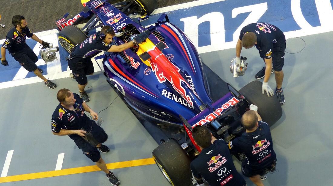Sebastian Vettel - Red Bull - Formel 1 - GP Singapur - 19. September 2014