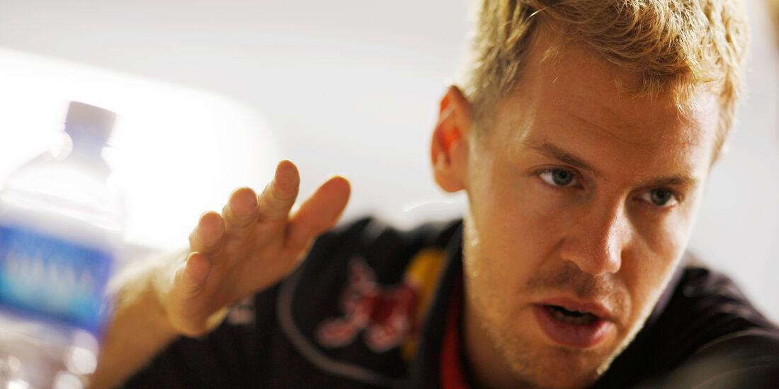 Sebastian Vettel - Red Bull - Formel 1 - GP Singapur - 21. September 2013