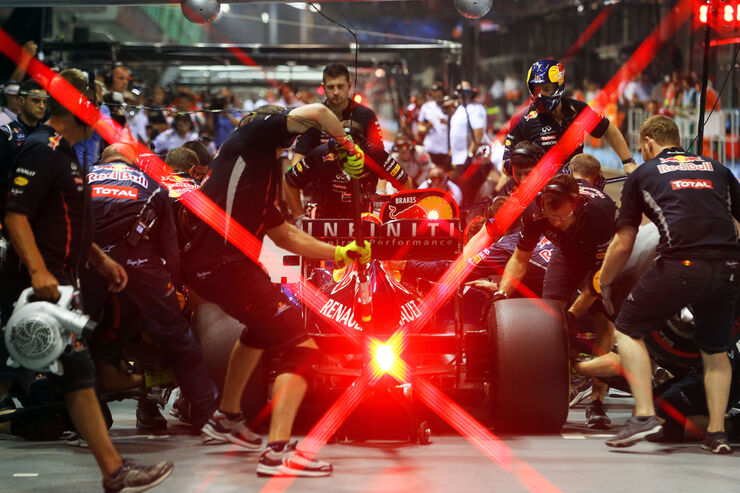Sebastian Vettel - Red Bull - Formel 1 - GP Singapur - 22. September 2012