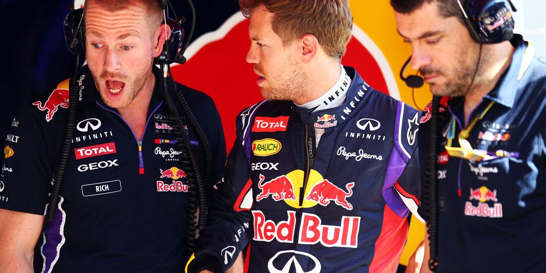 Sebastian Vettel - Red Bull - Formel 1 - GP Spanien - Barcelona - 9. Mai 2014