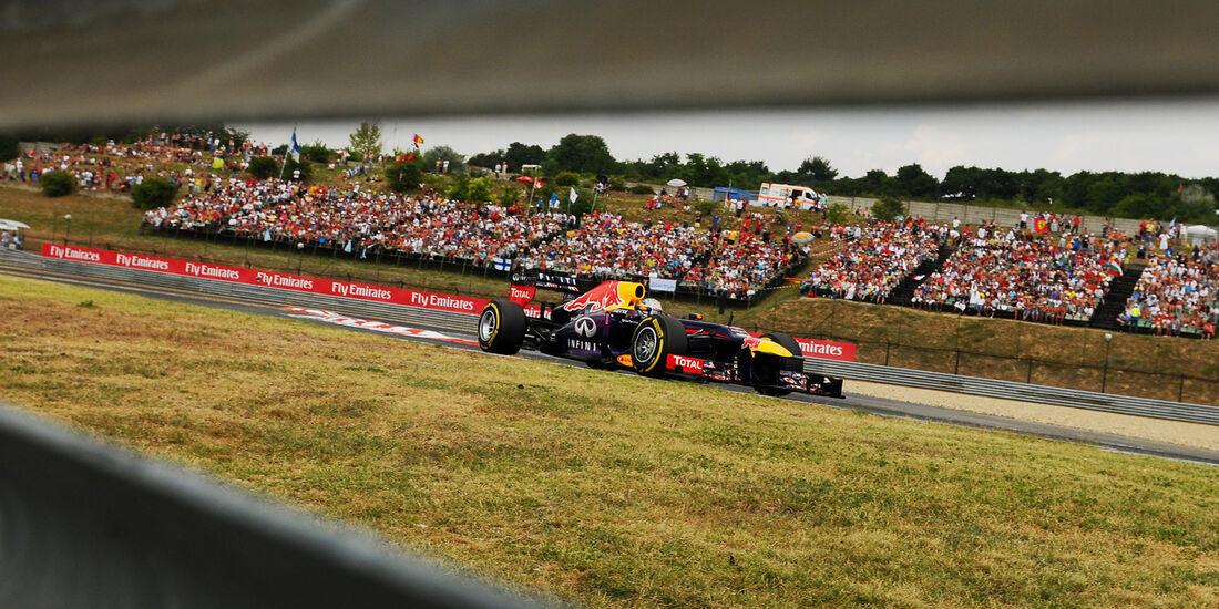 Sebastian Vettel - Red Bull - Formel 1 - GP Ungarn - 27. Juli 2013