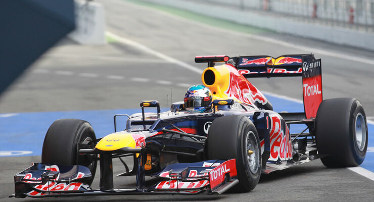 Sebastian Vettel - Red Bull - Formel 1-Test - Barcelona - 2012