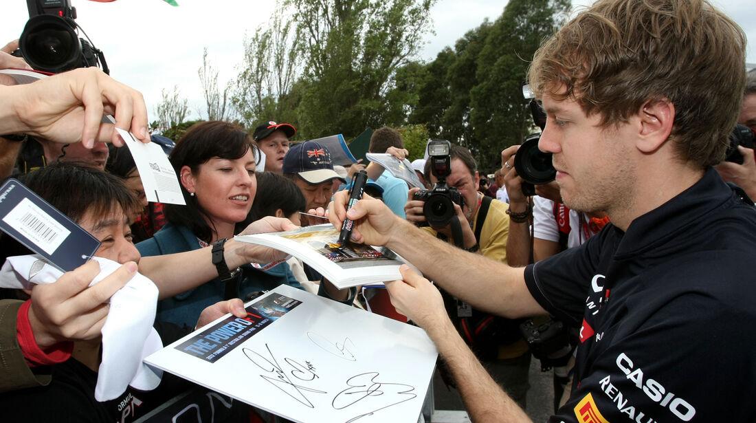 Sebastian Vettel - Red Bull - GP Australien - Melbourne - 16. März 2012