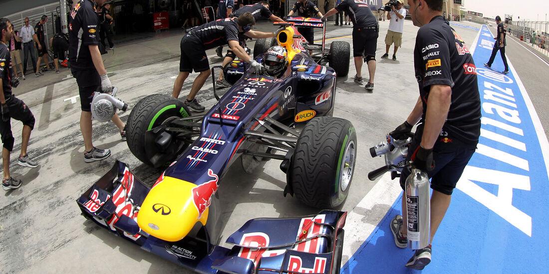 Sebastian Vettel Red Bull GP Bahrain 2012
