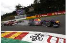 Sebastian Vettel Red Bull GP Belgien 2011