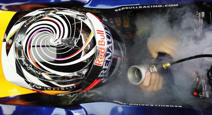 Sebastian Vettel - Red Bull - GP Malaysia - Training - 23. März 2012