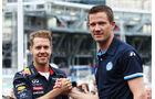 Sebastian Vettel & Sebastien Ogier - GP Monaco 2013 - VIPs & Promis