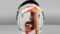 Sebastian Vettel - Spezialhelm - GP Monaco 2016