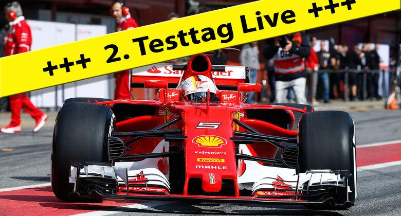 Sebastian Vettel - Testticker - Teaser - 2017