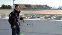 Sebastien Buemi Barcelona F1-Test 2012
