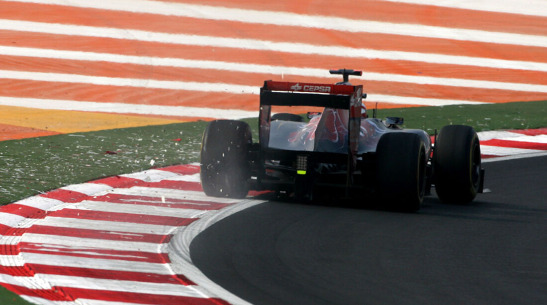 Sebastien Buemi GP Indien 2011