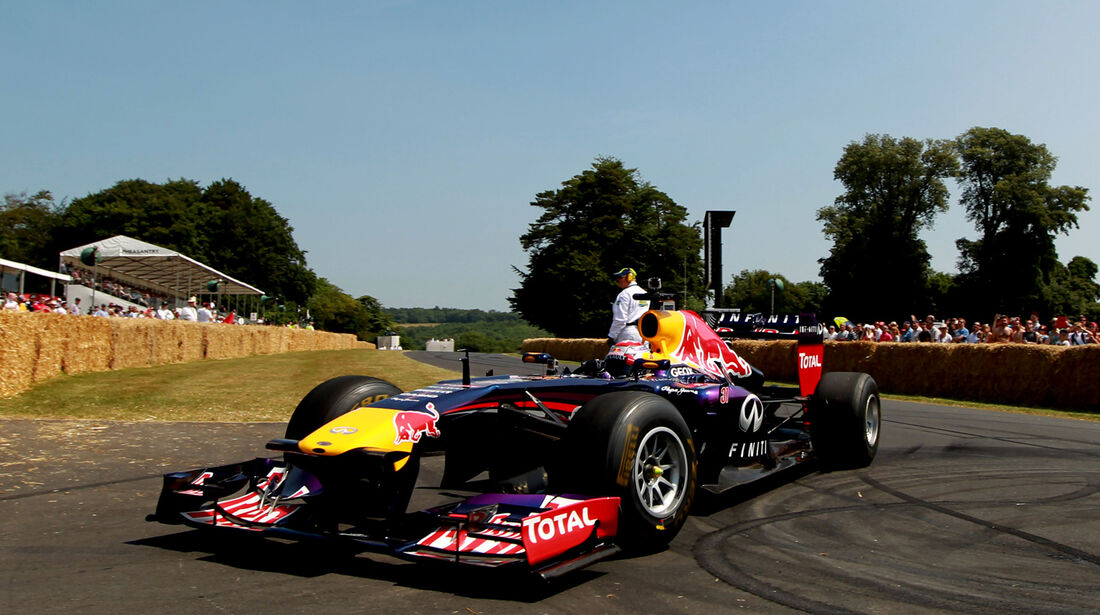 Sebastien Buemi - Red Bull - Goodwood 2013