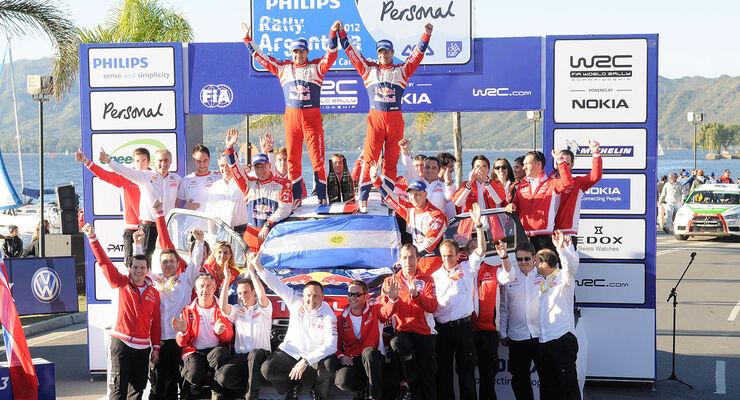 Sebastien Loeb Rallye Argentinien 2012