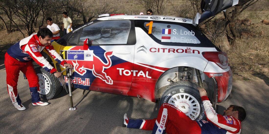 Sebastien Loeb WRC Rallye Mexiko 2012