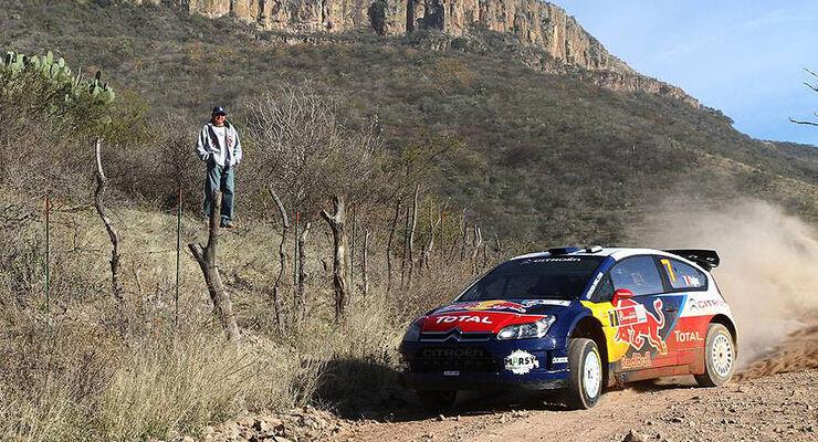Sebastien Ogier Citroen C4 Mexiko 2010