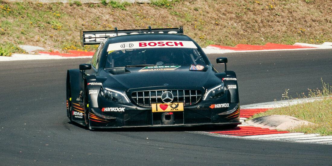 Sebastien Ogier - DTM-Test - Mercedes - 2018