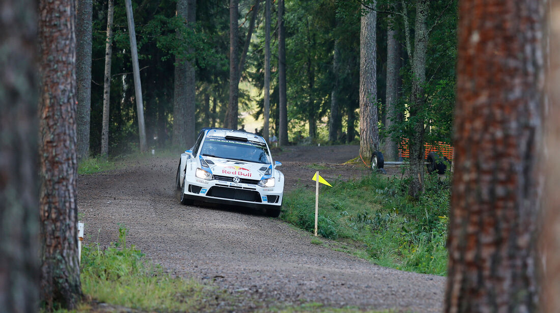Sebastien Ogier - Rallye Finnland 2014