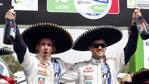 Sebastien Ogier Rallye Mexiko 2013