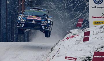 Sebastien Ogier Rallye Schweden 2016