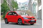 Seitenansicht, VW Golf